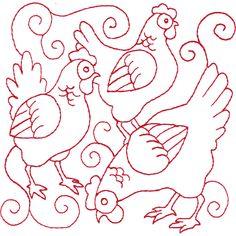 04 Calling Birds Felt Ornaments Patterns, Christmas Embroidery Patterns, Christmas Applique, Felt Patterns, Hand Embroidery Patterns, Cross Stitch Embroidery, Cross Stitch Patterns, Machine Embroidery, Embroidery Designs