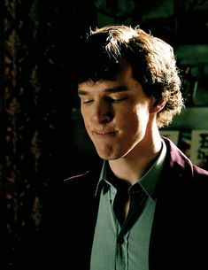 Sherlock what are you doing? Whatever it is, it's cute.