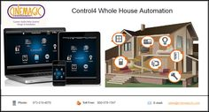 #Control4 Whole #HomeAutomation: Now you can control your home through you favorite devices. Control4® now has apps for your #smartphone, #tablet, #laptop and #PC. Apps are available for #Apple® and #Android operating systems.