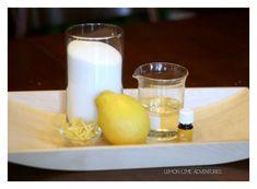Energizing Lemon Sugar Scrub with Essential Oils - Lemon Lime Adventures Essential Oils For Congestion, Essential Oils For Colds, Essential Oil Uses, Lemon Essential Oils, Young Living Essential Oils, Sugar Scrub Recipe, Sugar Scrub Diy, Diy Scrub, Oils For Newborns