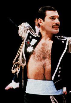 Freddie Mercury ~ Fashion Aid 1985