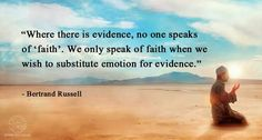 Even worse, following emotion when there is evidence that it IS NOT TRUE! Solid evidence! Mormons baffle me. LDS no more.