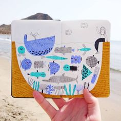 Pescaitos!  #illustration #drawing #beach #summer #love
