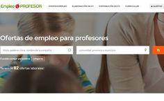 """Nace """"Empleo Profesor"""" el portal que reúne todas las ofertas de empleo docente en España"""