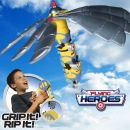 Despicable Me Flying Hero 52534 Save the world with the Despicable Me Flying Hero. Pull the cord and launch the Flying Hero into the sky. The harder you pull the higher it flies and the faster it spins. Warnings: Not suitable for ch http://www.MightGet.com/january-2017-11/despicable-me-flying-hero-52534.asp