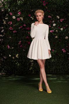 Платье «Аврора» мини белое — 19 990 рублей