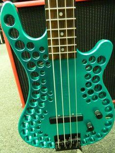 Abel Axe Aluminum Bass Guitar w Kent Armstrong Jbve 1