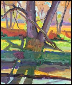 """""""Late Afternoon Trees"""" - Michael McConnell"""