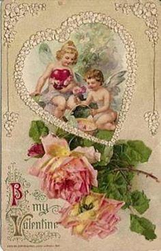 Fiocchi di Natale: cartoline vintage
