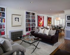 Hilldale Residence - contemporary - living room - los angeles - Suzie Parkinson SÜZA DESIGN
