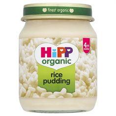 hipp organic baby food - rice pudding