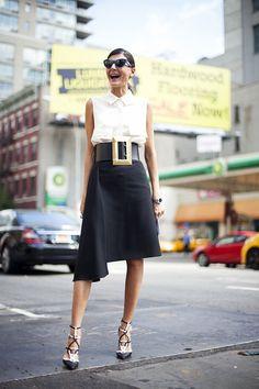 carmenabarca:  Guiovanna Battaglia… en la semana de la moda...