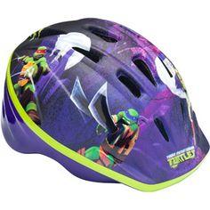 Ninja Turtle Microshell Boys' Bicycle Helmet, Child