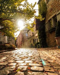 Medieval streets of the smallest city in the world! // Durbuy, Wallonia, Belgium