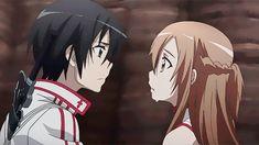 Bimbo Manga Anime, Sao Anime, Fanarts Anime, Anime Characters, Sword Art Online Asuna, Sao Kirito And Asuna, Couples Anime, Foto Gif, Sword Art Online Wallpaper