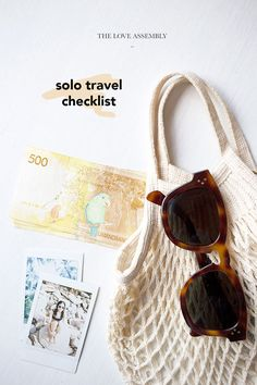 Travelling Alone? Here's Your Solo Travel Checklist