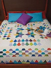 Rainbow Mosaic Quilt Kit LQK16297