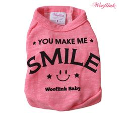 Brand: Wooflink So soft and comfortablesweatshirts in three colors♥ Cute printing on back     Size Chest Length   S 13' 8.5'   M 15' 10.25'   L 17' 12.25'   XL 19'5  14'