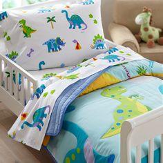 Wildkin Olive Kids Dinosaur Land Toddler Sheet Set & Reviews | Wayfair