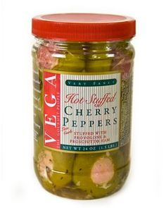 Case of 3 Jars Hot Stuffed Cherry Peppers 24 Oz * Tried it! Love it! Click the image. : Quick dinner ideas