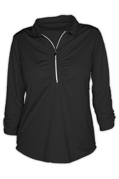 0fa0410d649 Find Mojo Sportswear Company New! Shop the latest collection of Mojo  Sportswear Company New! Ladies Shell Caye Zip Pullover from the popular  stores - all in ...