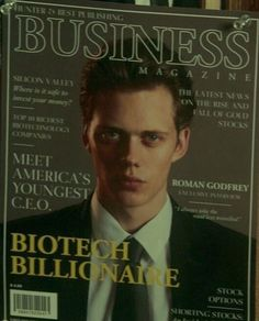 Love Me Like, Love Of My Life, I Dont Understand You, Bill Skarsgard Pennywise, Bill Skarsgard Hemlock Grove, Roman Godfrey, Business Magazine, Papi, Beautiful Boys