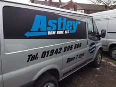 Astley Van Hire Fleet Graphics Atherton Manchester by Atherton Media