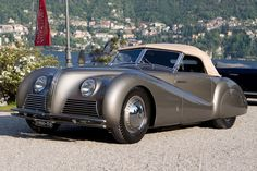 Alfa Romeo 6C 2500 SS Spider (Pinin Farina) Plus