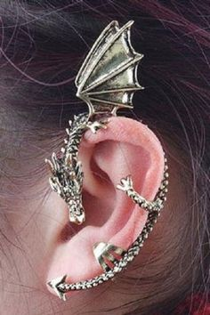 Dragon ear cuff #Gameofthrones #daenerys