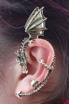 Dragon ear cuff #Gameofthrones #daenerys
