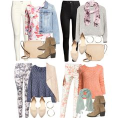 A fashion look from March 2016 featuring St. John's Bay sweaters, Topshop sweaters and H&M sweaters. Browse and shop related looks.