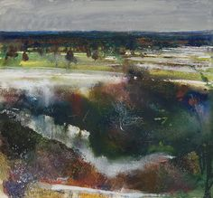 A dusting of snow. Cliveden Reach. November 2010 in KURT JACKSON from The Redfern Gallery