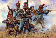7na French Legion resisting the Russian cavalry.