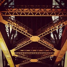 "@thequeenskickshaw's photo: ""Under Hellgate Bridge"""