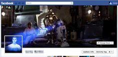 Timeline Facebook Star Wars
