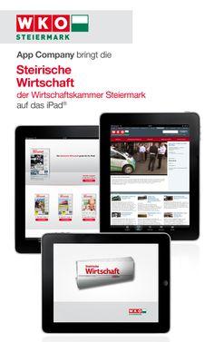WKO Steiermark App: App Company Oberösterreich - die Appagentur aus Linz - bringt die WKO - Steirische Wirtschaft - auf das iPad®