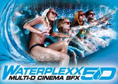 Dimension - Waterplexx - The Land of Legends 5th Dimension, Water Effect, Latest Generation, The Visitors, First World, Attraction, Cinema, In This Moment, Entertaining