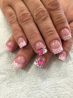 Heart and dots
