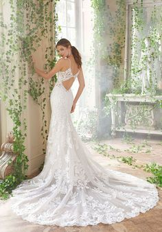 79e60849673c Back view of Peta Wedding Dress by Morilee. Available to try on at Bon Bon