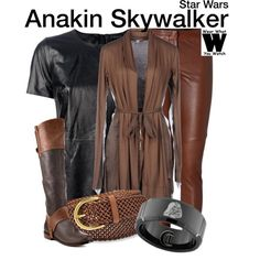 Inspired by Hayden Christensen as Anakin Skywalker in the Star Wars film franchise. Star Wars Outfits, Disney Bound Outfits, Disney Dresses, Disney Clothes, Cruise Outfits, Movie Inspired Outfits, Disney Inspired Fashion, Themed Outfits, Fandom Fashion