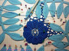 Магия вязания: МК: Сборка ирландского кружева
