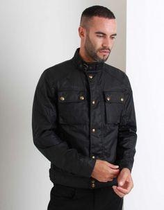 Belstaff Racemaster Blouson Jacket Black | Accent Clothing