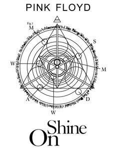 Here's the special logo for the Shine On boxset.
