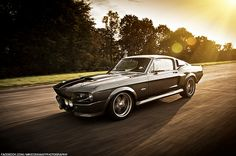 """Car of the day – 1967 Mustang Shelby Eleanor HD Engine: 770 hp kW). Top speed is 274 km/h mph). This car was originally used in the movie """"gone in 60 seconds"""". Ford Mustang Shelby Gt500, Shelby Cobra Gt500, Mustang Bullitt, 1967 Shelby Cobra, Shelby Gt 500, Ford Shelby, Mustang Cars, Shelby Eleanor, Muscle Cars"""