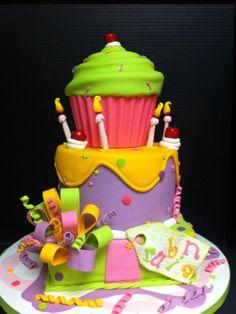 Cake first birthday pinterest cupcake cakes cupcake and cakes