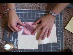 Making an Envelope Pocket Card - YouTube