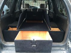 4runner modified interior camper - Google Search