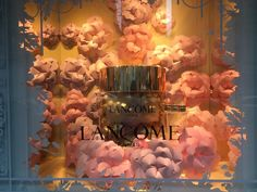 """SAKS FIFTH AVENUE, New York, """"Every flower is a soul blossoming in nature"""", by LANCOME, pinned by Ton van der Veer"""