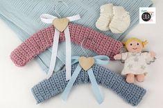 Come fare grucce per neonato a uncinetto Tutorial in italiano