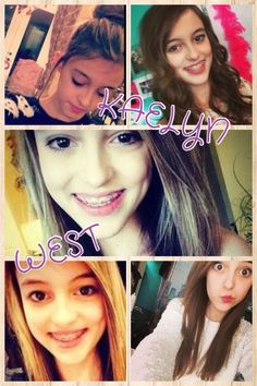 Kaelyn west ROCKS! She's beautiful, funny, and her videos are just amazing.She is from seven super girls on YouTube  very fun channel